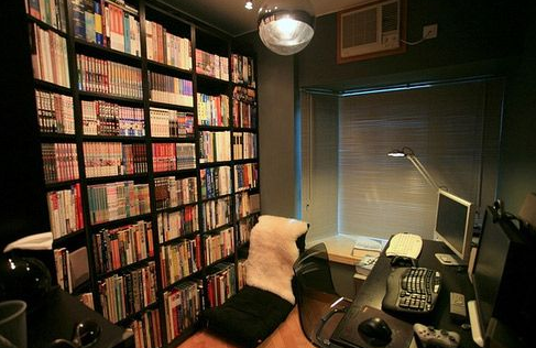 书房要如何选择适合的书柜?