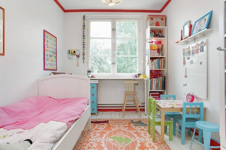 儿童房的装修注意事项。