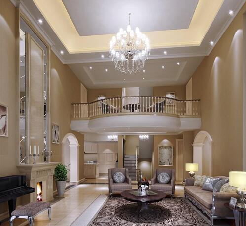 别墅的客厅要怎么装修?