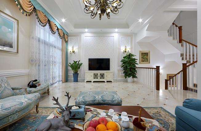 别墅的客厅要怎么布置?