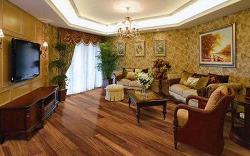 你们觉得柚木地板好看吗?