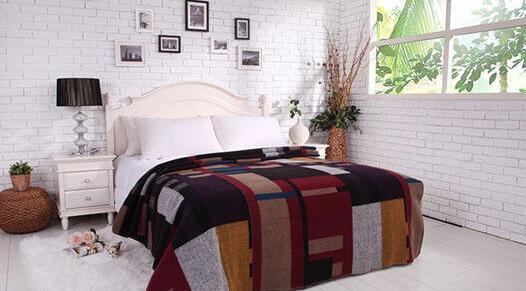 羊毛毯子暖和吗?