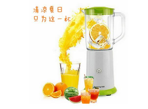 九阳榨汁机怎么用?