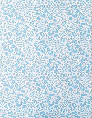 请问蓝色壁纸用什么颜色窗帘好看?
