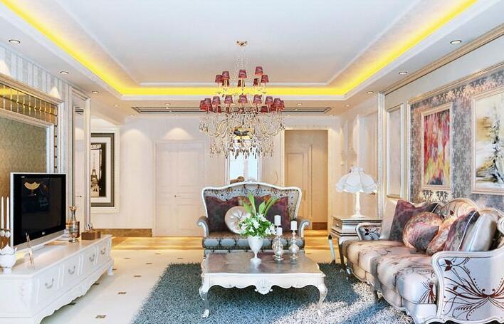 欧式风格的客厅装修有什么特点?