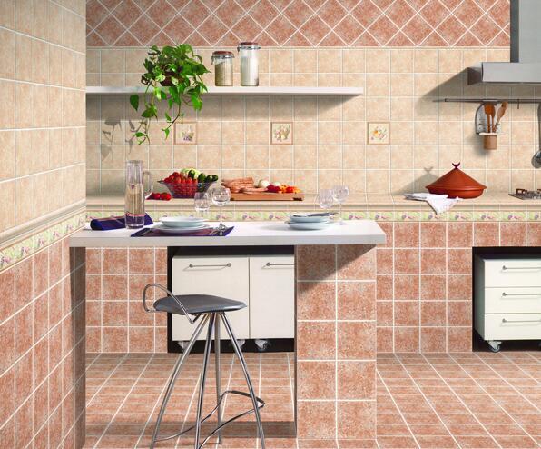 厨房是直接铺瓷砖还是木地板?