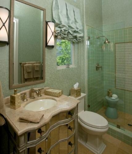 小户型的卫生间该怎么设计才不挤?