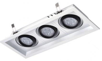 格栅吊顶射灯使用的是节能灯泡吗?