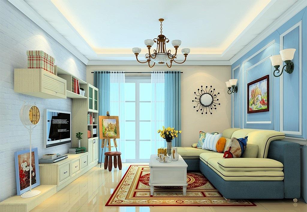 客厅中的电视柜的高度多少合适?