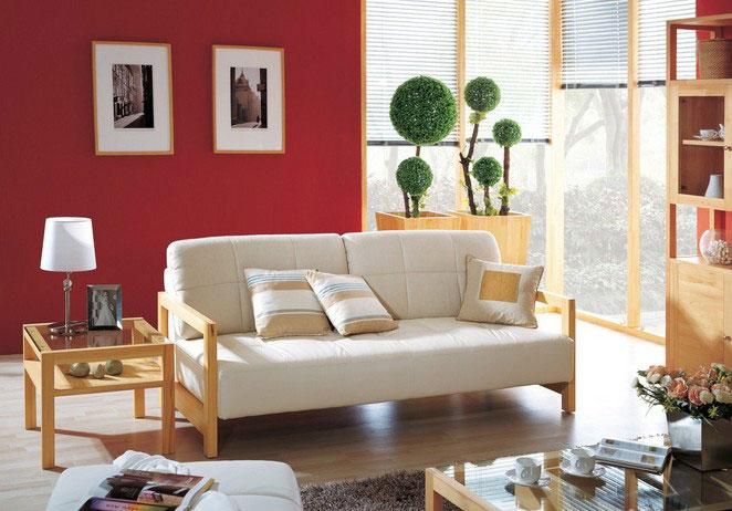 什么材质的家具放在客厅好看?