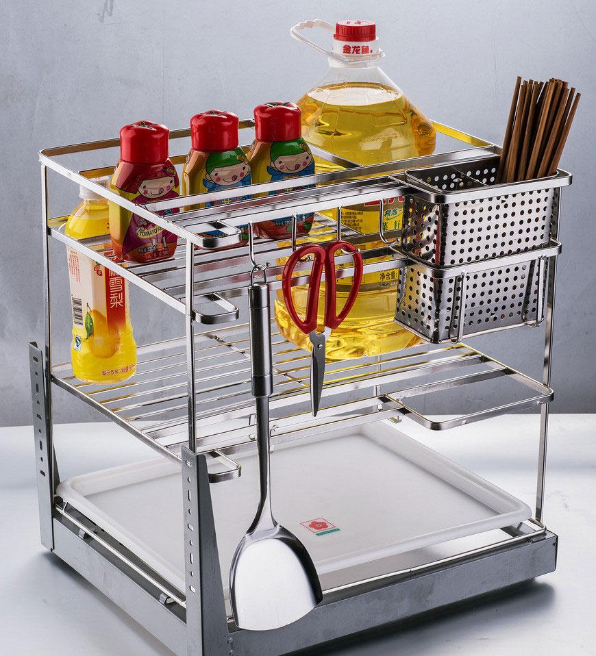 厨房使用的不锈钢拉篮怎么样?