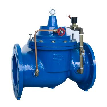 水利控制阀选用及安装注意事项