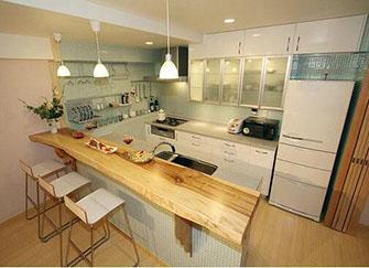 日式风格厨房