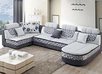 客厅布沙发