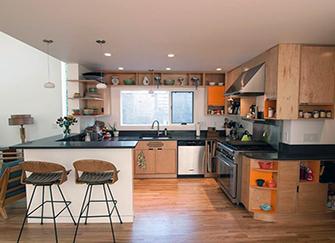 开放式的厨房设计