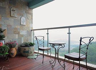 阳台装修风格
