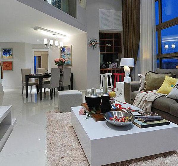 loft客厅装修设计 loft客厅装修报价 loft客厅装修效果案例
