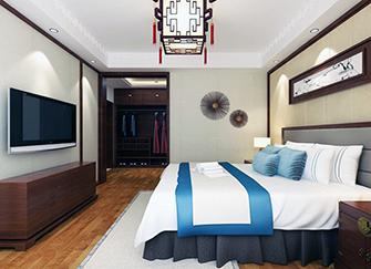 卧室隔出衣帽间设计 主卧里2平米衣帽间设计 衣帽间卧室一体效果案例