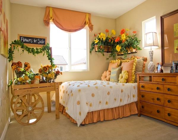 暖色系卧室