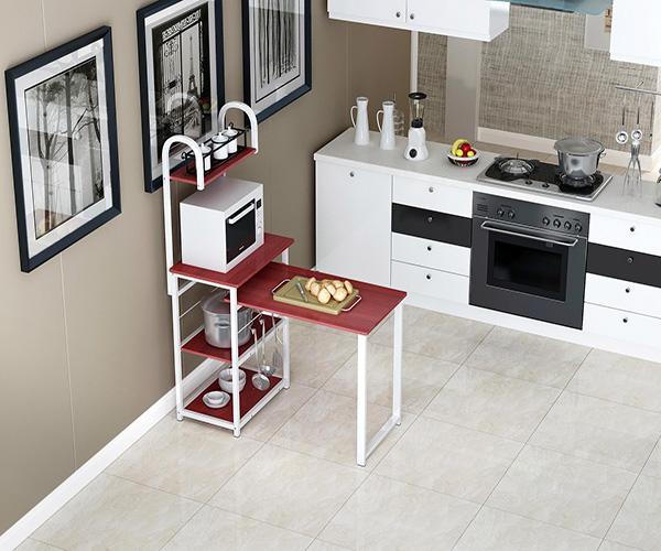 厨房整理用什么收纳架 厨房收纳架挂式好还是摆台面好 多功能厨房收纳架材质