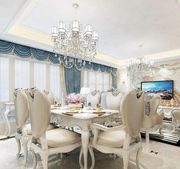 欧式装修选什么窗帘 欧式装修窗帘颜色搭配 欧式装修窗帘效果案例