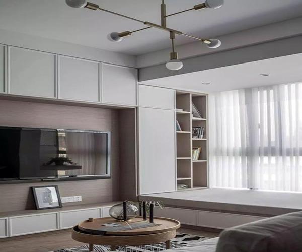 客廳弧形飄窗裝修設計 客廳l型飄窗裝修設計