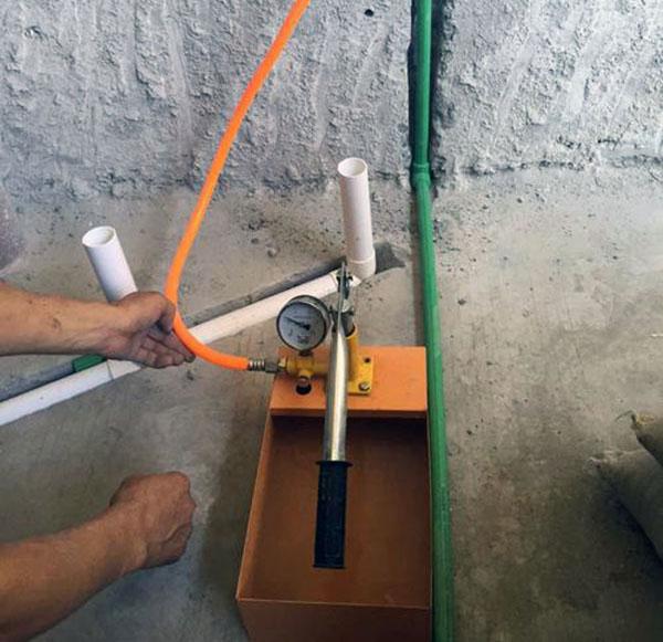 装修水压测试