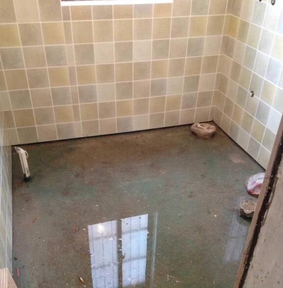 卫生间闭水试验