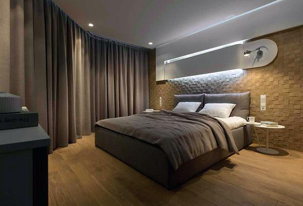 不规则卧室