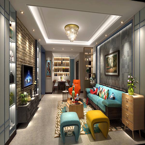 客厅用什么颜色灯光好 客厅装修灯带什么颜色好看 欧式装修客厅灯颜色搭配