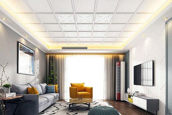 集成吊顶可以装修客厅吗 客厅装修集成吊顶好吗 客厅吊顶装修用集成好还是石膏