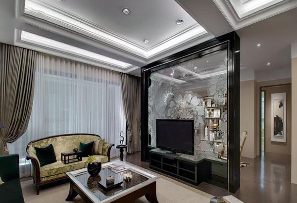 客厅竖梁设计