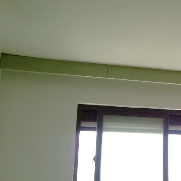 客厅窗帘盒