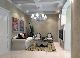 如何装修客厅墙面颜色 欧式装修客厅墙壁纸颜色 欧式客厅墙面颜色搭配