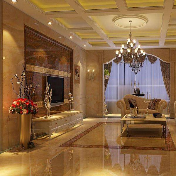 金刚微晶石装修客厅