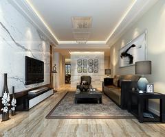 简约装修客厅墙面颜色