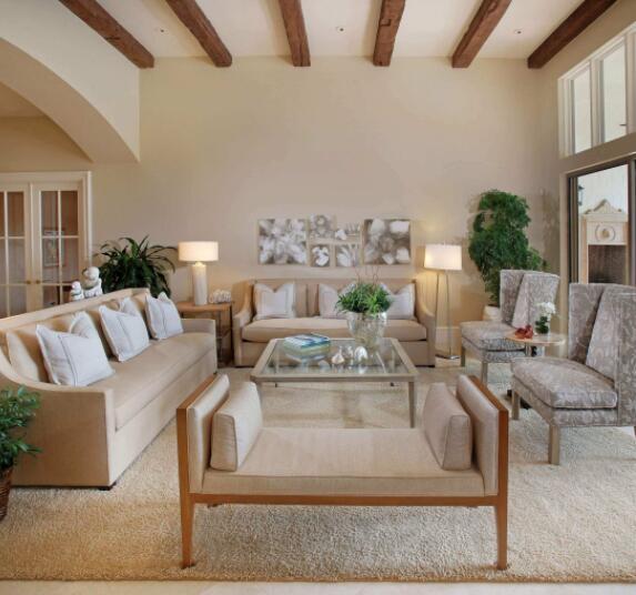 客厅横梁太低怎么装修 客厅横梁太宽怎么装修 客厅2米5高横梁装修