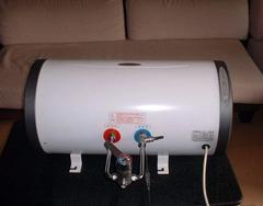 清洗热水器