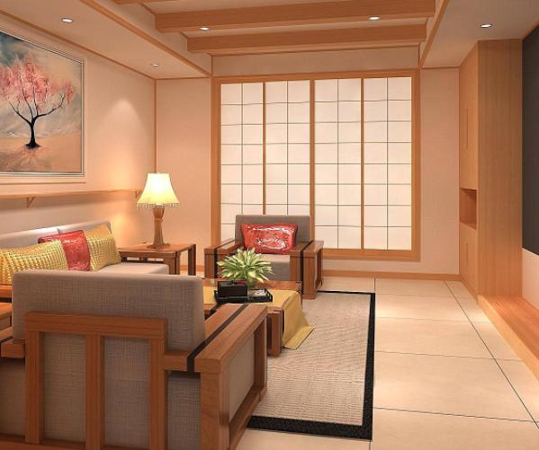 日式原木风格
