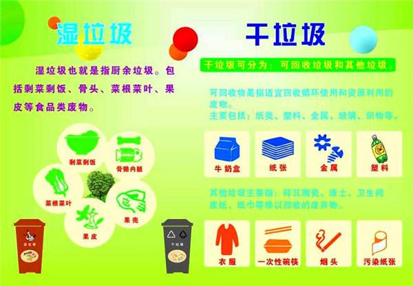 干垃圾和湿垃圾的区别 干垃圾和湿垃圾有哪些 干垃圾具体是哪些东西