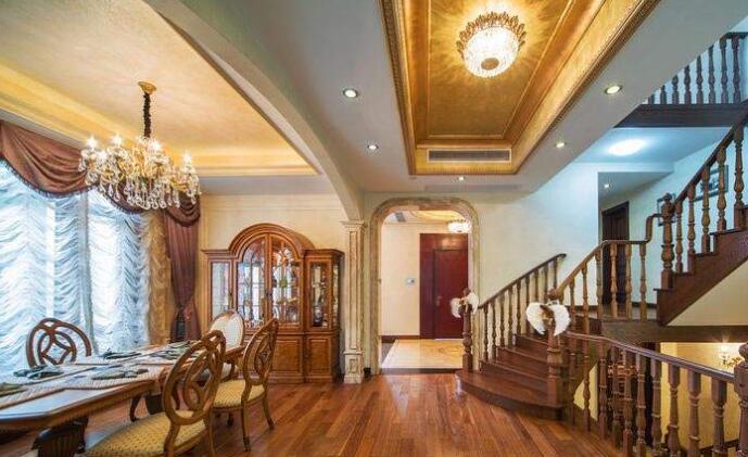 棕色地板配什么颜色门 棕色地板门搭配技巧 棕色地板门搭配效果案例