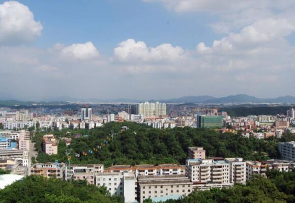 塘厦镇并入深圳