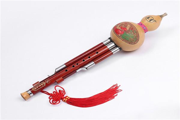 红木葫芦丝