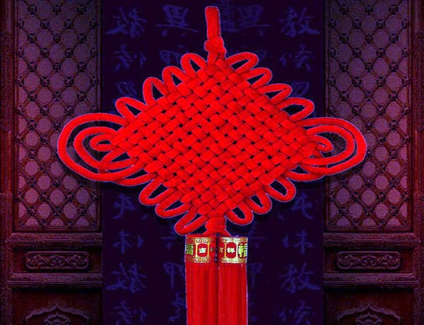 中国结挂法
