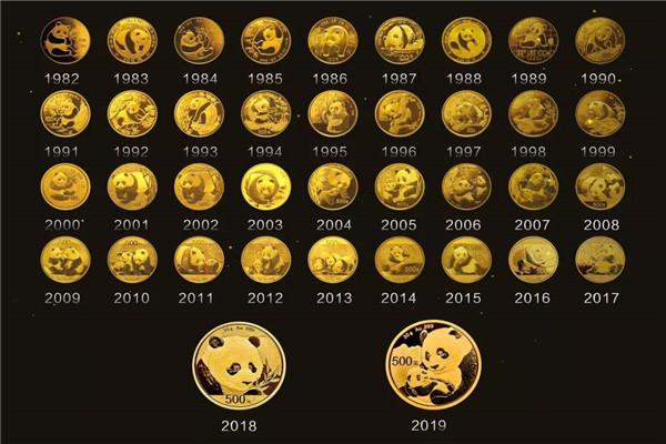 2020版熊貓金幣