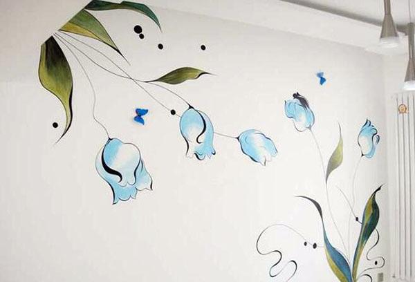 手绘墙画制作