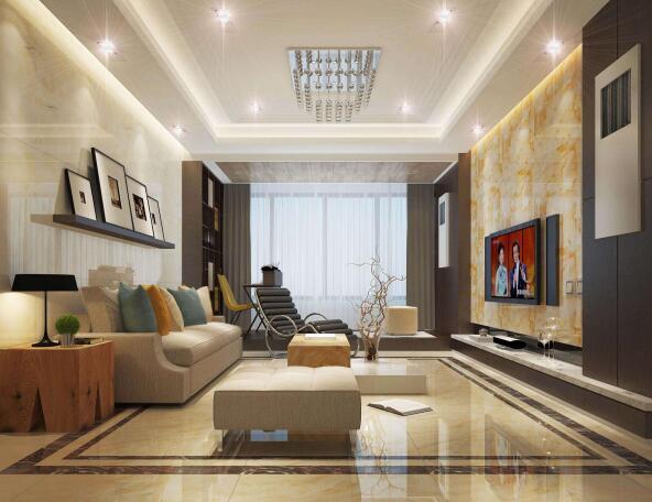 客厅瓷砖选择什么颜色好看 客厅瓷砖多大尺寸好 客厅瓷砖怎么铺好看