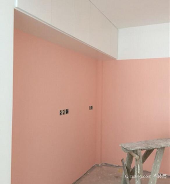 墙面油漆的颜色基本比较满意