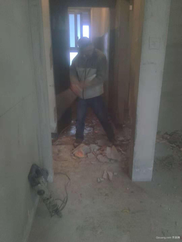 第一步先拆墙