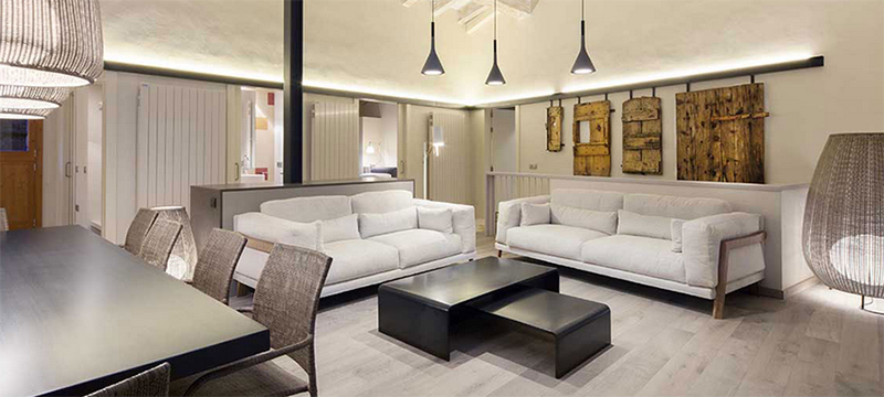 大户型精美的素色调欧式客厅室内装修效果图